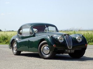 1956 Jaguar XK140 Fixed Head Coupe For Sale by Auction