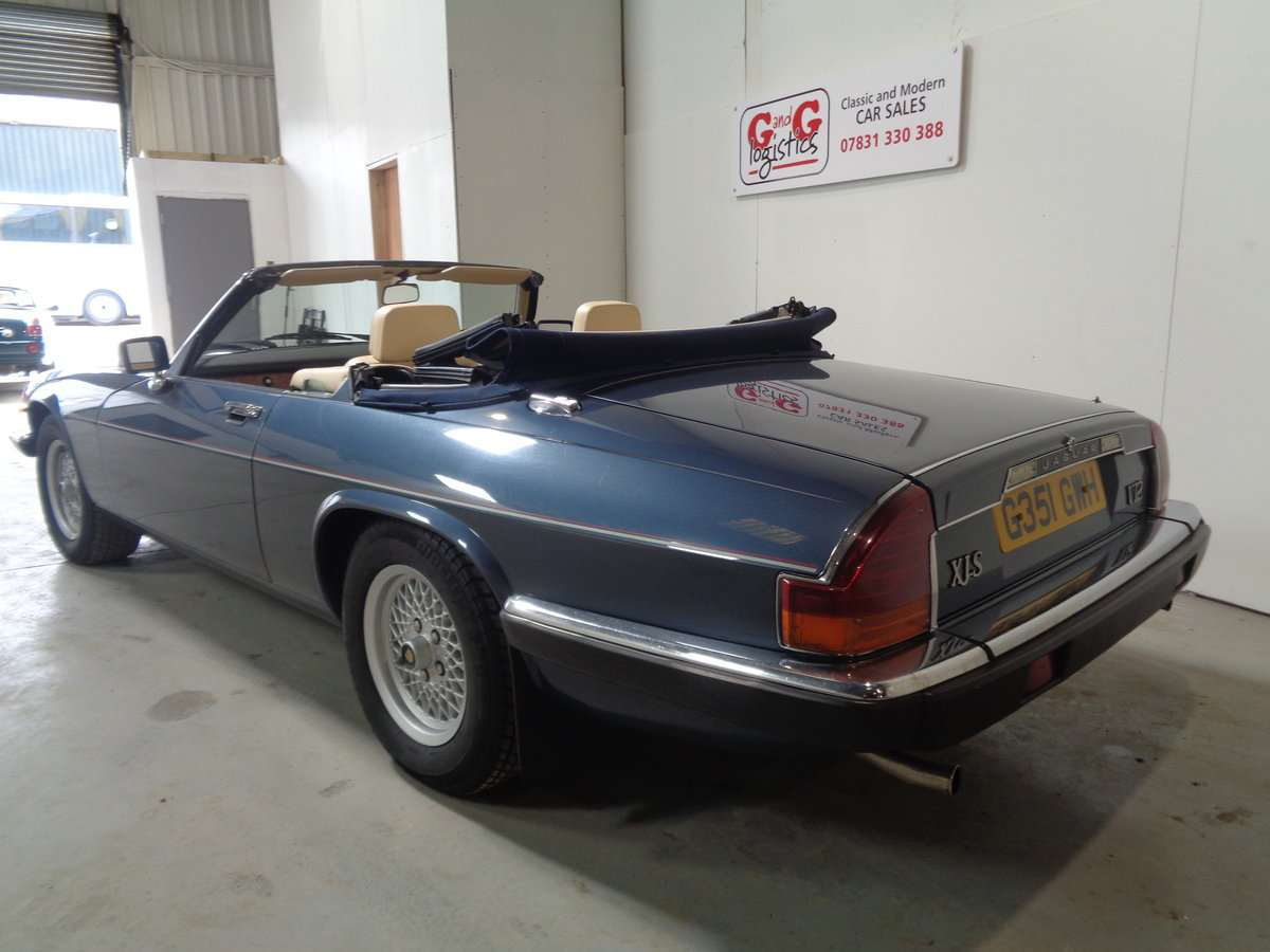 1990 Xjs 5.3 v12 convertible - 24,000 miles fsh For Sale (picture 3 of 6)