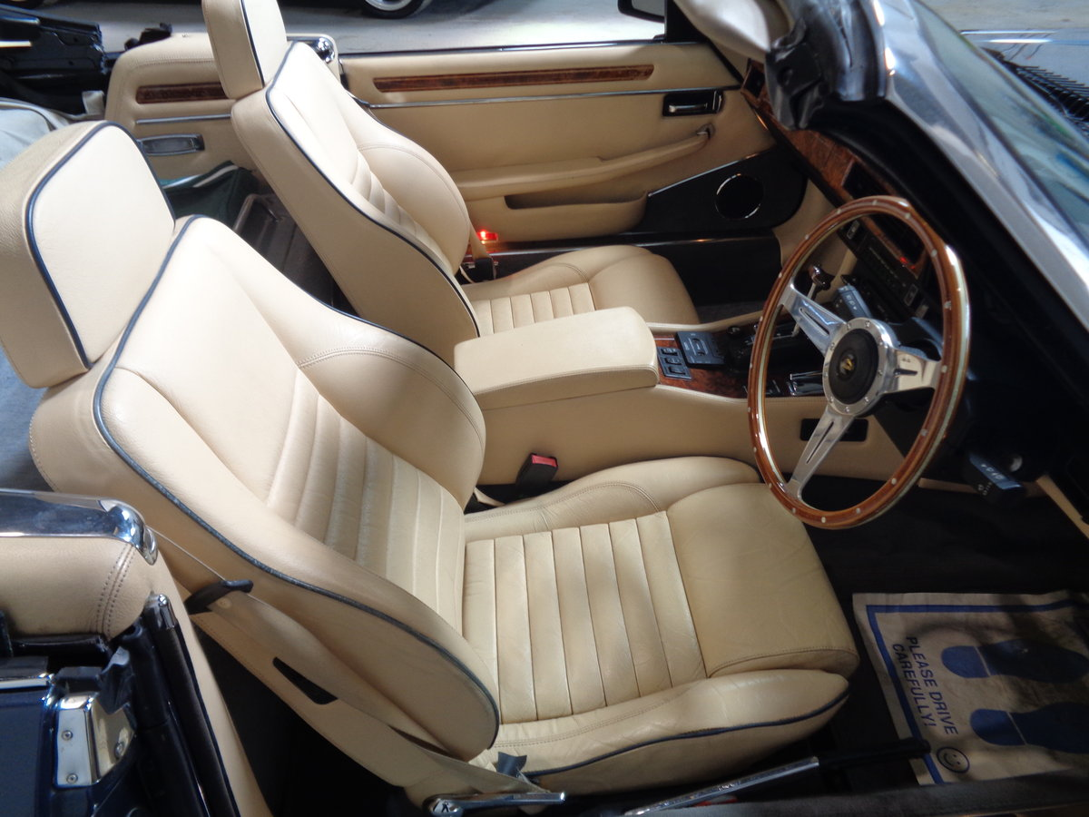 1990 Xjs 5.3 v12 convertible - 24,000 miles fsh For Sale (picture 4 of 6)