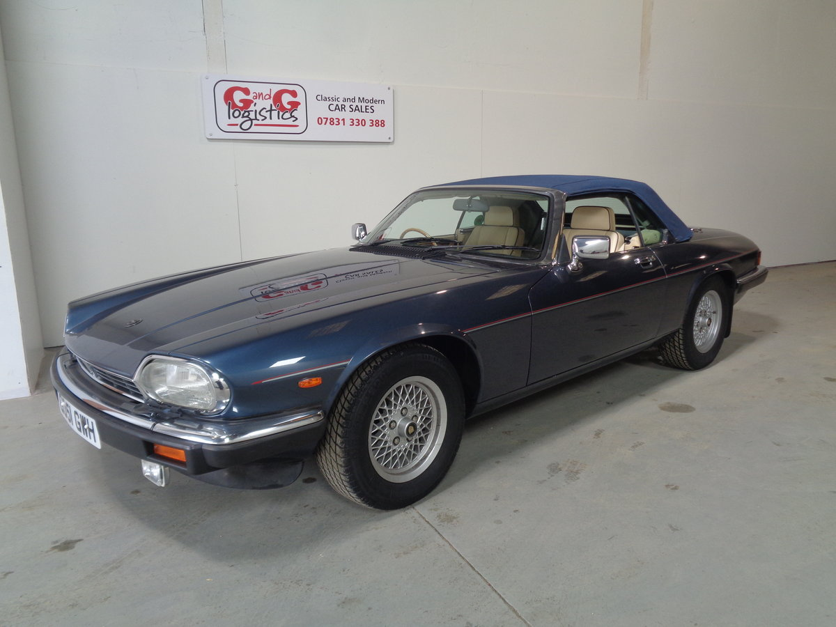 1990 Xjs 5.3 v12 convertible - 24,000 miles fsh For Sale (picture 5 of 6)