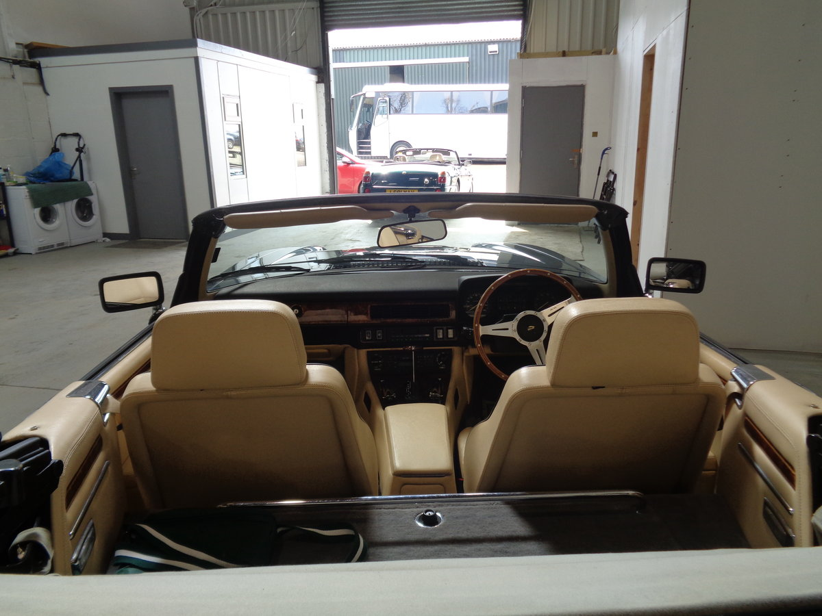 1990 Xjs 5.3 v12 convertible - 24,000 miles fsh For Sale (picture 6 of 6)