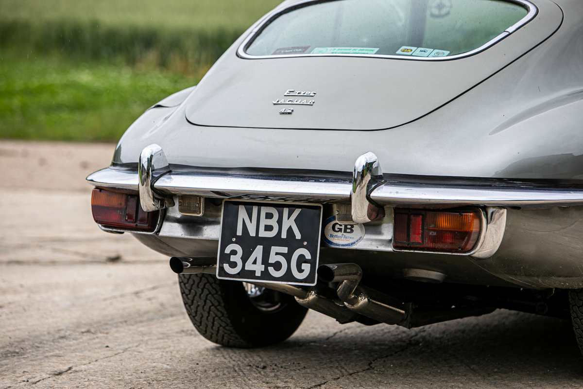 1969 Jaguar E-Type Series 2 FHC SOLD by Auction (picture 1 of 6)