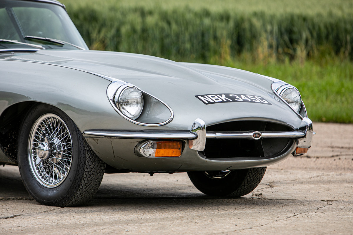 1969 Jaguar E-Type Series 2 FHC SOLD by Auction (picture 5 of 6)