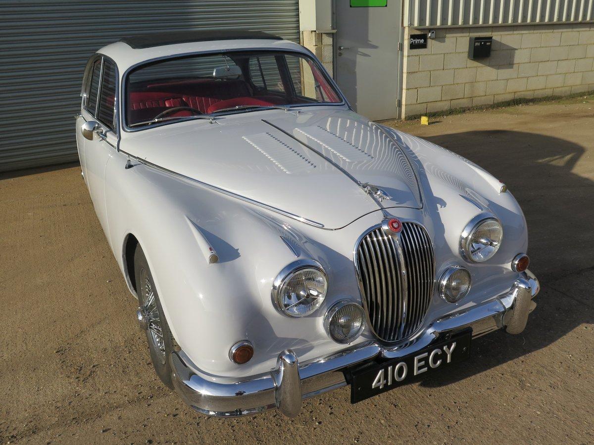 1963 Jaguar Mk2 3.4-Litre ManualOverdrive SOLD by Auction (picture 1 of 6)
