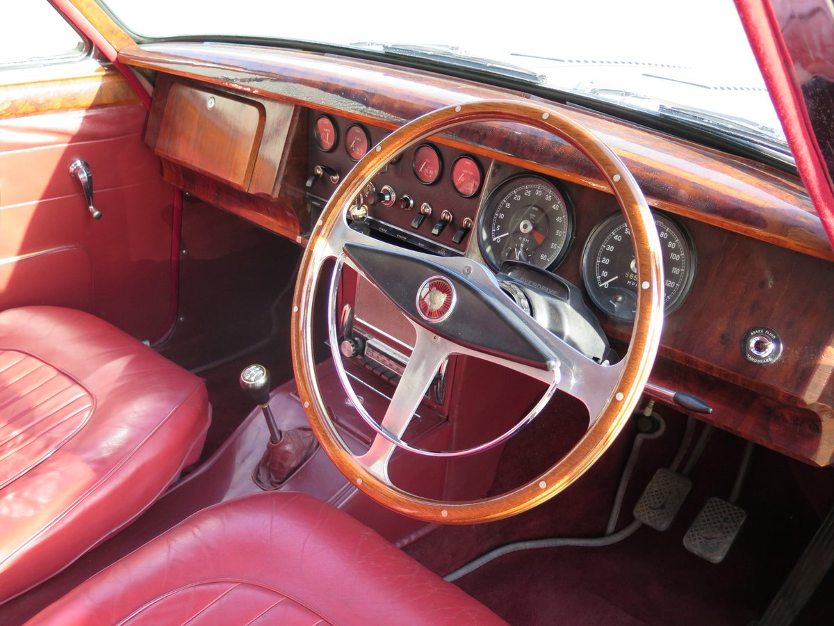 1963 Jaguar Mk2 3.4-Litre ManualOverdrive SOLD by Auction (picture 2 of 6)