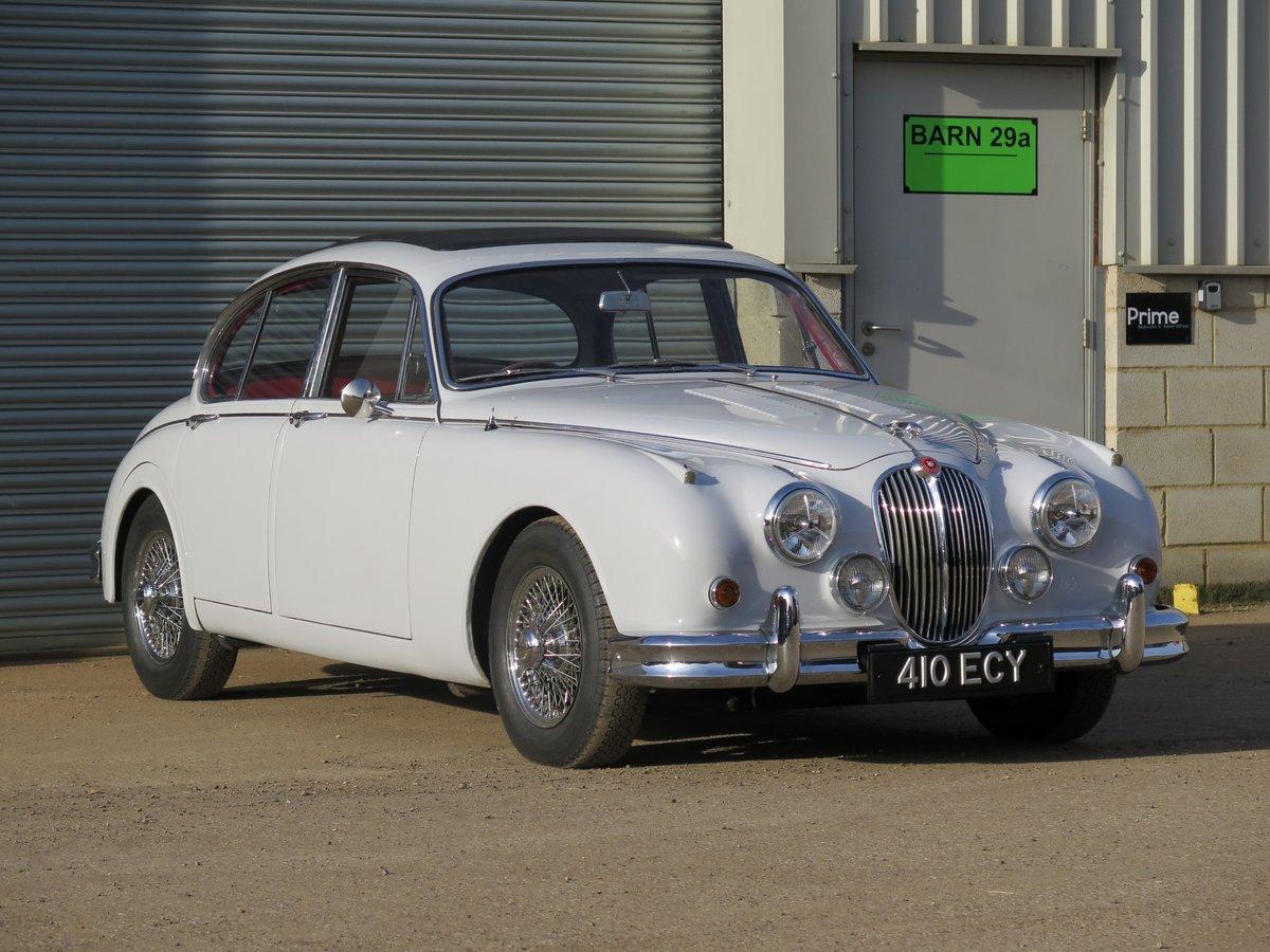 1963 Jaguar Mk2 3.4-Litre ManualOverdrive SOLD by Auction (picture 4 of 6)