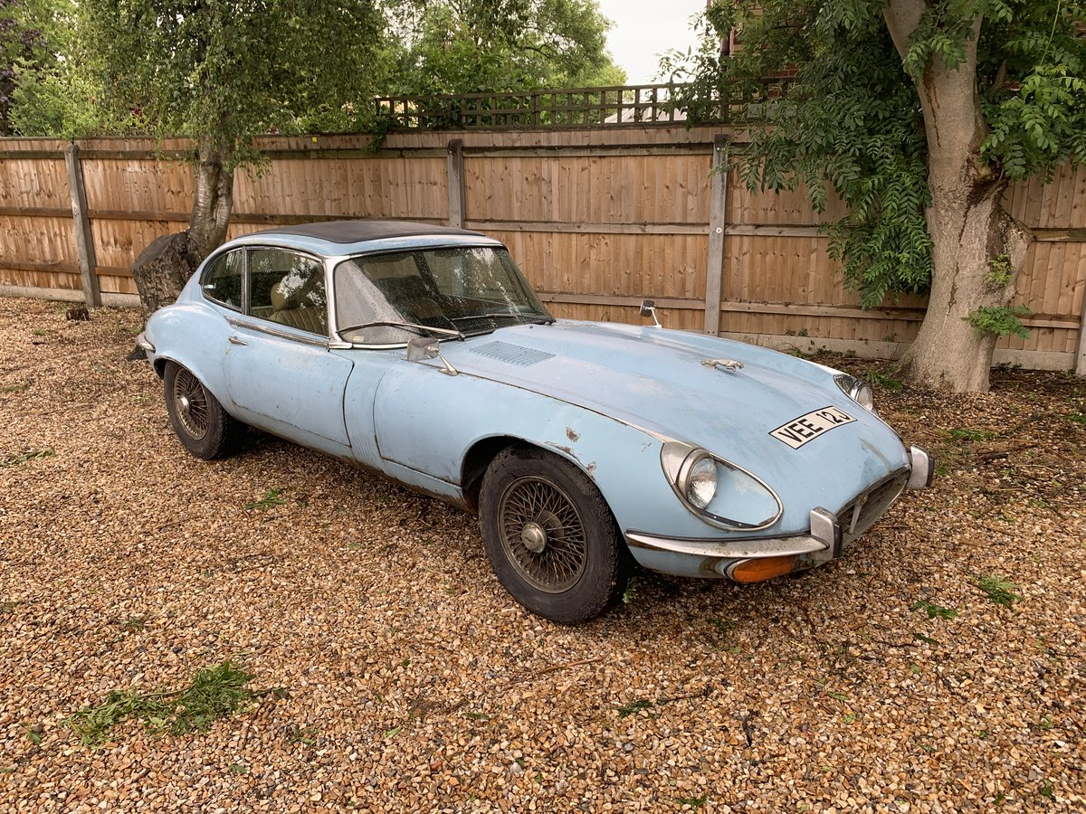 1971 Jaguar E-Type Series 3 V12 Coupe SOLD by Auction (picture 2 of 6)