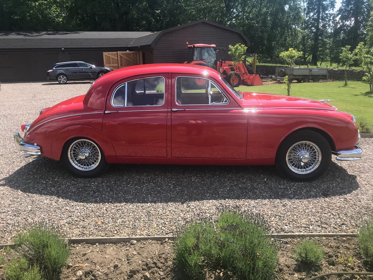 1957 Jaguar MK1 3.4 Manual  Overdrive SOLD by Auction (picture 1 of 6)