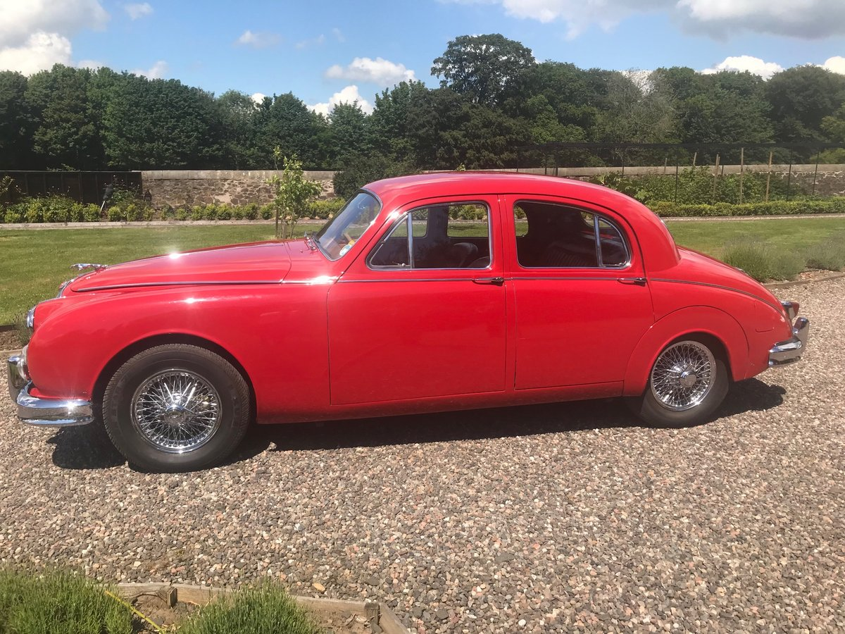 1957 Jaguar MK1 3.4 Manual  Overdrive SOLD by Auction (picture 3 of 6)