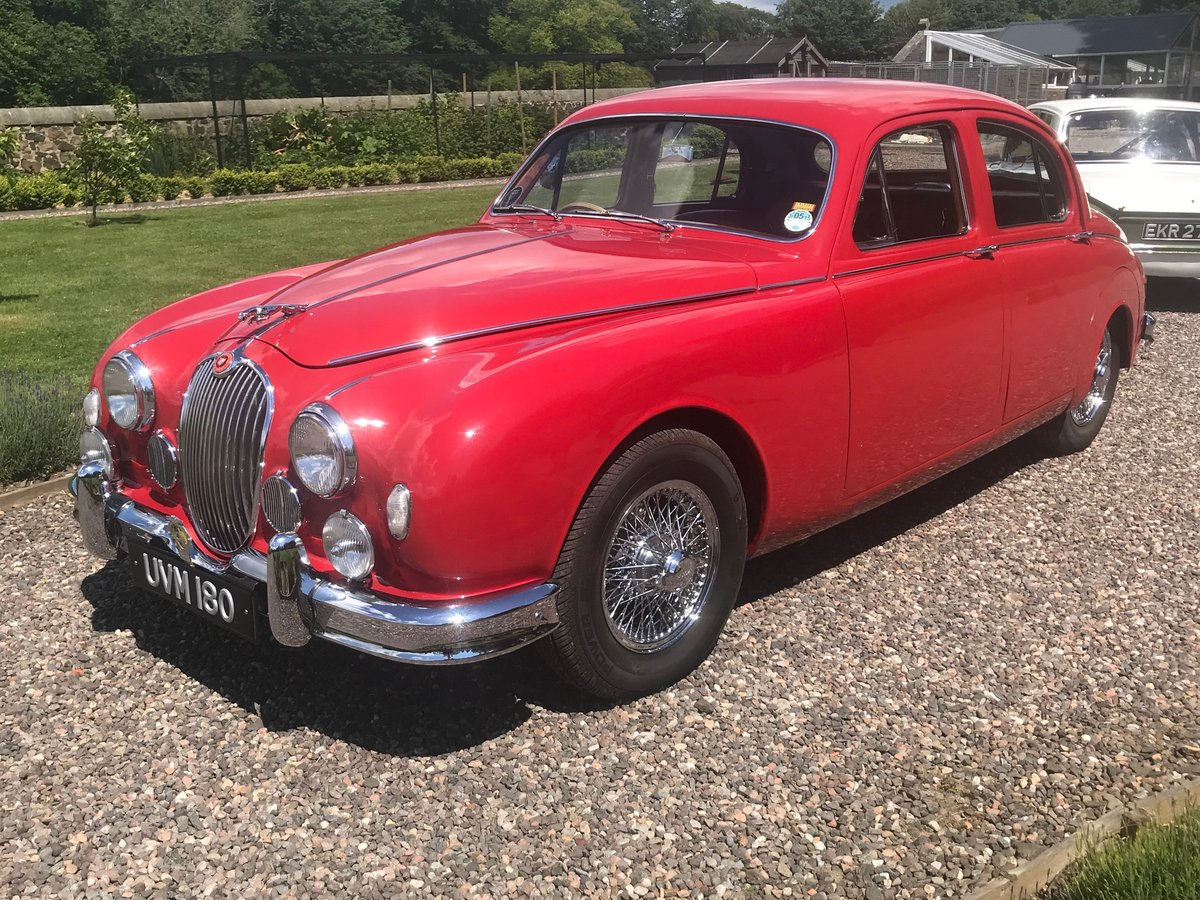 1957 Jaguar MK1 3.4 Manual  Overdrive SOLD by Auction (picture 4 of 6)