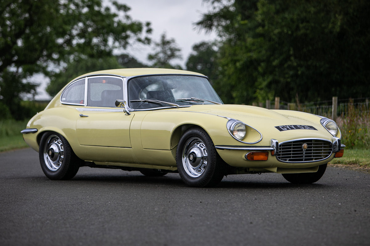 1973 1972 Jaguar E-Type FHC Series 3 SOLD by Auction (picture 1 of 6)