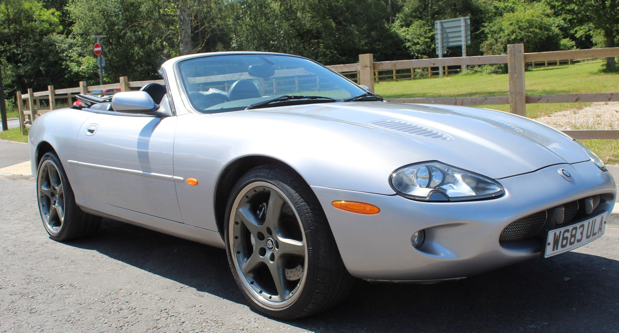 2000 W Jaguar XKR  Silverstone For Sale (picture 1 of 6)