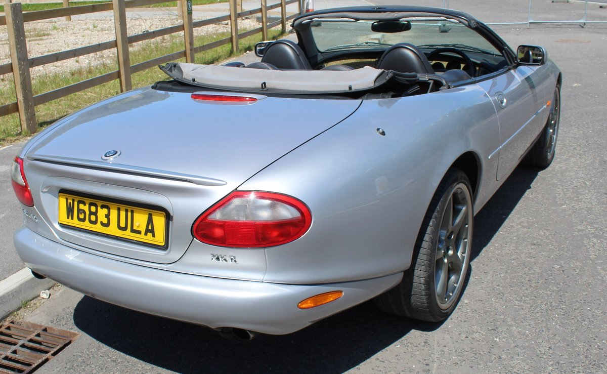 2000 W Jaguar XKR  Silverstone For Sale (picture 4 of 6)