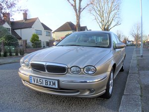 2001 Jaguar X-Type 3.0 V6 SE (AWD) 4dr Full Service His