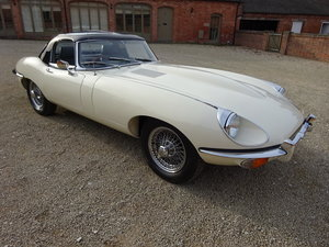 1969 JAGUAR E-TYPE S2 ROADSTER 4.2 RESTORED 30 ROAD TEST MILES  For Sale