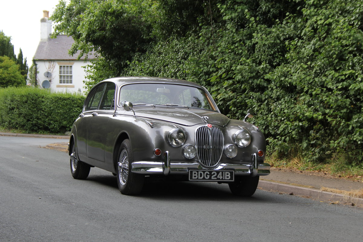 1964 Jaguar MKII 3.4 Manual O/D - Matching No's UK car SOLD (picture 1 of 12)