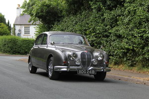 1964 Jaguar MKII 3.4 Manual O/D - Matching No's UK car SOLD