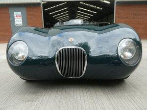 1953 Jaguar C Type Tool Room Reproduction - stunning