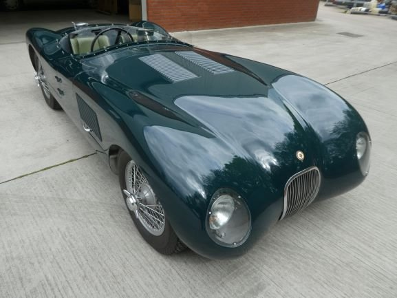 1953 Jaguar C Type Tool Room Reproduction - stunning SOLD (picture 2 of 6)