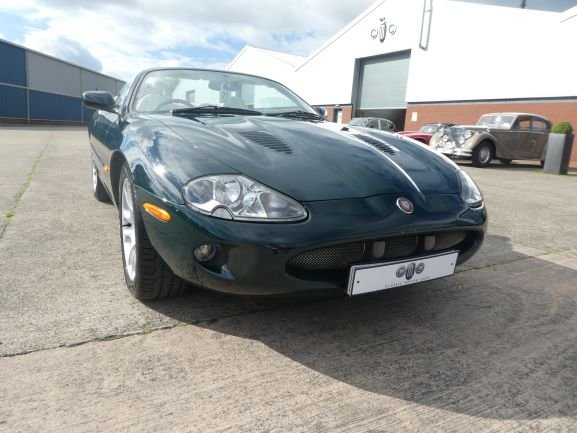 1999 Jaguar XKR Convertible For Sale (picture 1 of 6)
