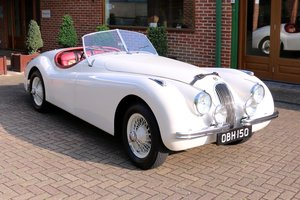 1951 JAGUAR XK120 SOLD