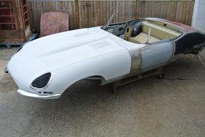 1963 Jaguar S1 3.8 Etype Roadster Body For Sale