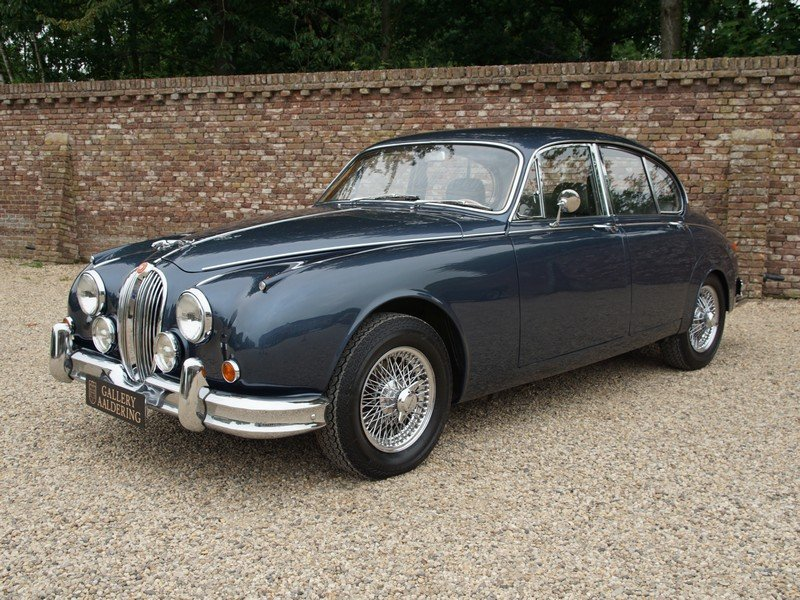 1967 Jaguar MK2 3.4 LHD well documented past 30 yrs, restored con For Sale (picture 1 of 6)