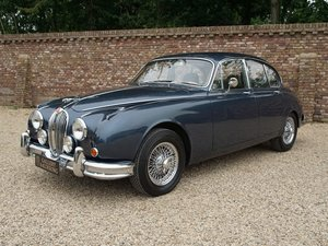 1967 Jaguar MK2 3.4 LHD well documented past 30 yrs, restored con For Sale