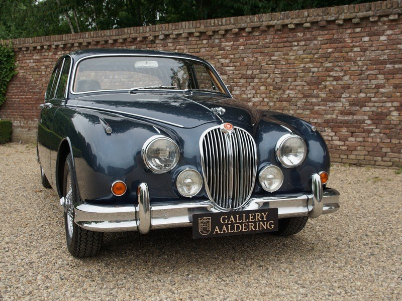 1967 Jaguar MK2 3.4 LHD well documented past 30 yrs, restored con For Sale (picture 5 of 6)