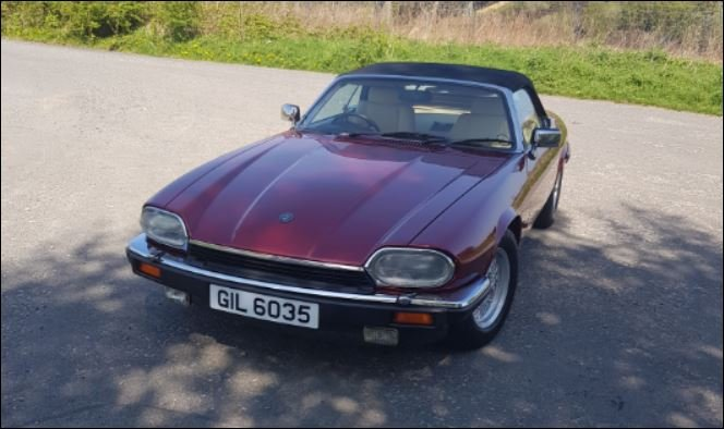 1991 Jaguar XJS Convertible 5.3 V12 SOLD (picture 1 of 5)