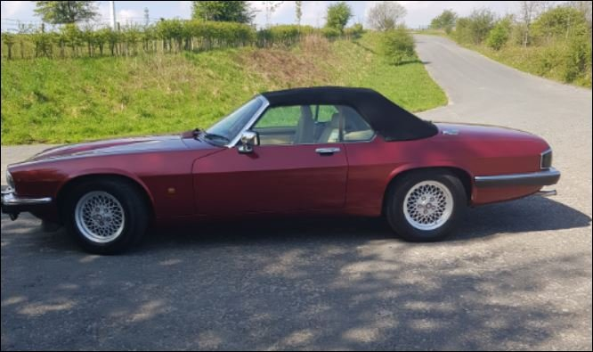 1991 Jaguar XJS Convertible 5.3 V12 SOLD (picture 2 of 5)