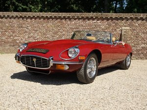 1973 Jaguar E-Type Series 3 V12 Convertible with AC For Sale