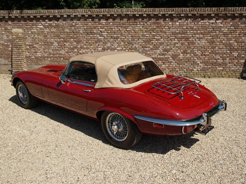 1973 Jaguar E-Type Series 3 V12 Convertible with AC For Sale (picture 2 of 6)
