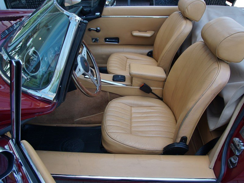 1973 Jaguar E-Type Series 3 V12 Convertible with AC For Sale (picture 3 of 6)