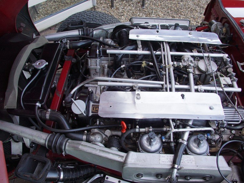 1973 Jaguar E-Type Series 3 V12 Convertible with AC For Sale (picture 4 of 6)