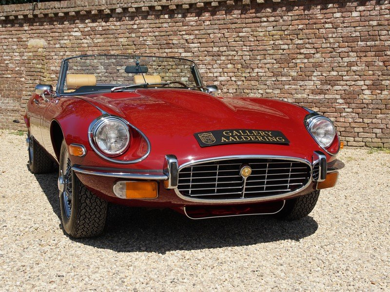 1973 Jaguar E-Type Series 3 V12 Convertible with AC For Sale (picture 5 of 6)