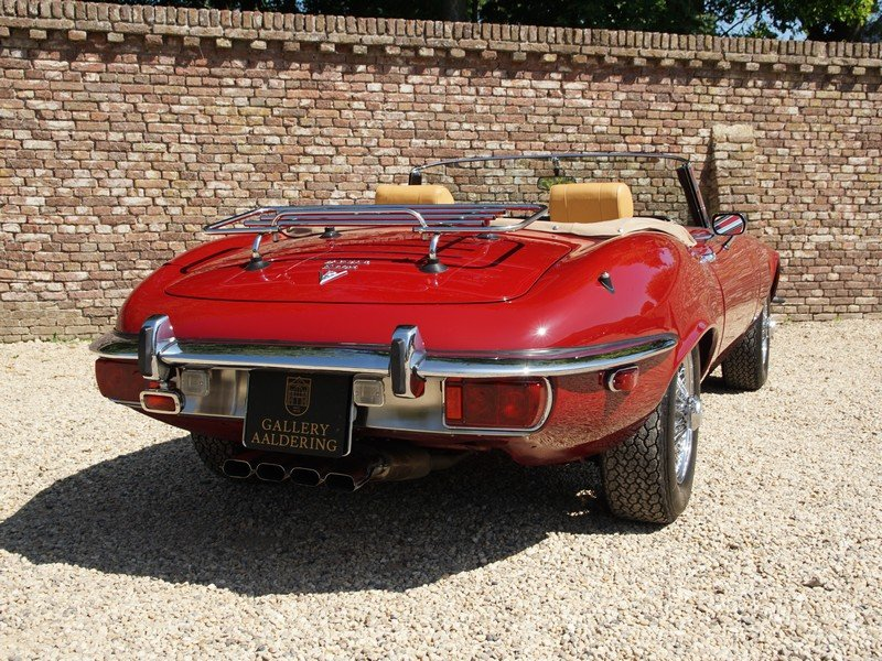 1973 Jaguar E-Type Series 3 V12 Convertible with AC For Sale (picture 6 of 6)