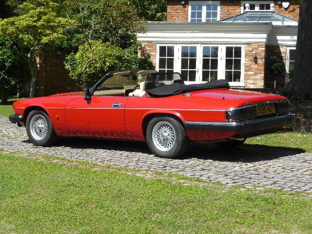 1992 Jaguar XJS Convertible For Sale (picture 3 of 6)