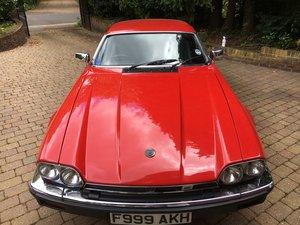 1988 Jaguar XJS 3.6 Manual For Sale