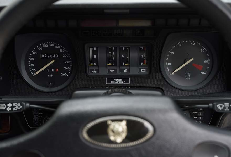 1989 Jaguar XJS 5.3 V12 Coupe Automatic For Sale In London ( For Sale (picture 10 of 12)