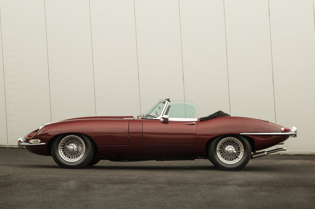 1968 Jaguar E-Type Series 1.5 LHD Roadster For Sale (picture 2 of 6)