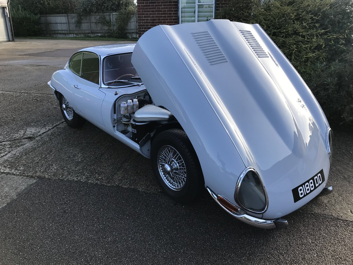 1962 Jaguar E-Type Series 1 3.8 Fixed Head Coupe  For Sale (picture 5 of 6)