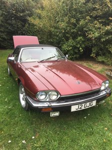 1991 XJS V12 HE Convertible - Barons Tuesday 16th July 2019 SOLD by Auction