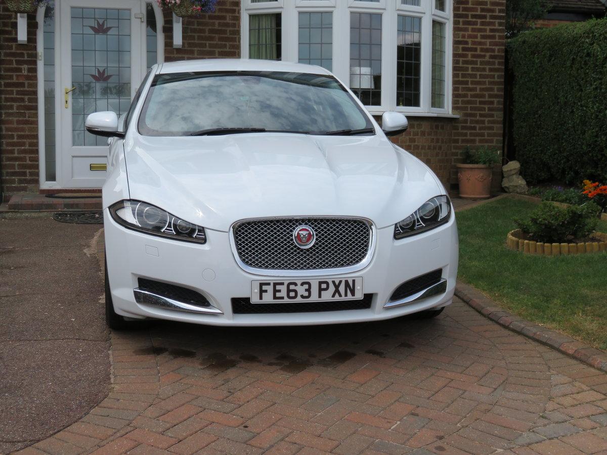 2013 Jaguar xf luxury d auto  For Sale (picture 1 of 6)