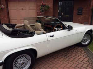 1988 Jaguar XJS V12 Convertible - Just 18000 miles only!! For Sale by Auction