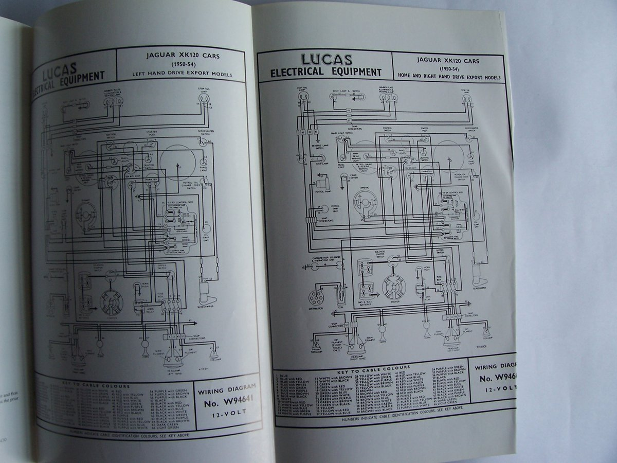 1948 JAGUAR XK 120 OPERATING, MAINTENANCE, and SERVICE HANDBOOK For Sale (picture 6 of 6)