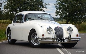 1959 Jaguar XK 150 FHC, fully restored,  For Sale