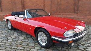 1991 Jaguar XJS V12 5.3 Convertible - Just 41299 miles  For Sale by Auction