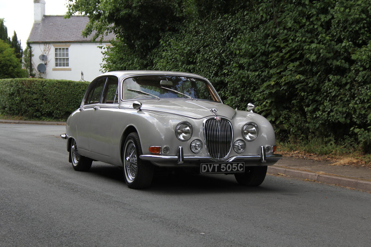 1965 Jaguar S Type 3.8 Manual O/D SOLD (picture 1 of 12)