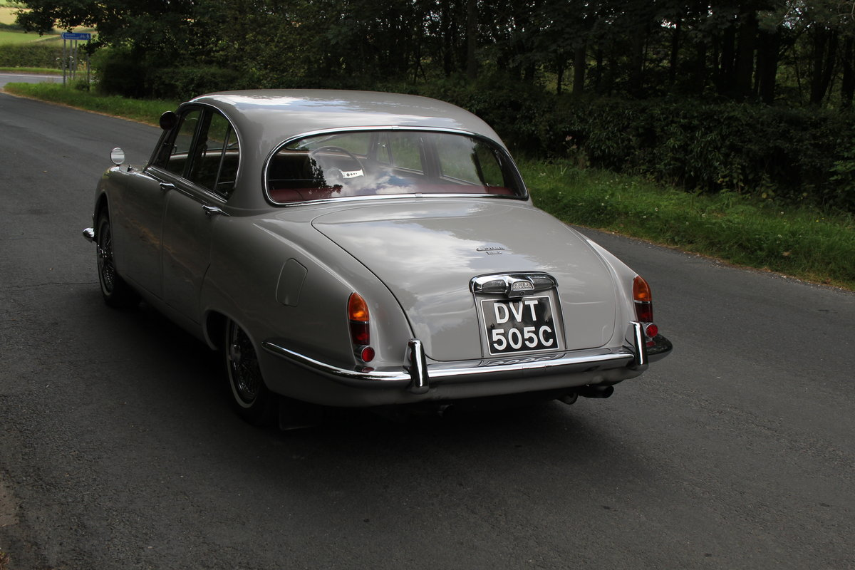 1965 Jaguar S Type 3.8 Manual O/D SOLD (picture 4 of 12)